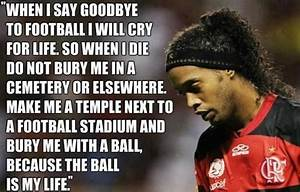 Messi About Ronaldinho Quotes. QuotesGram