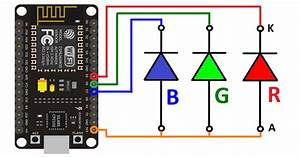 Wiring Diagram   Rgb Led Common Anode