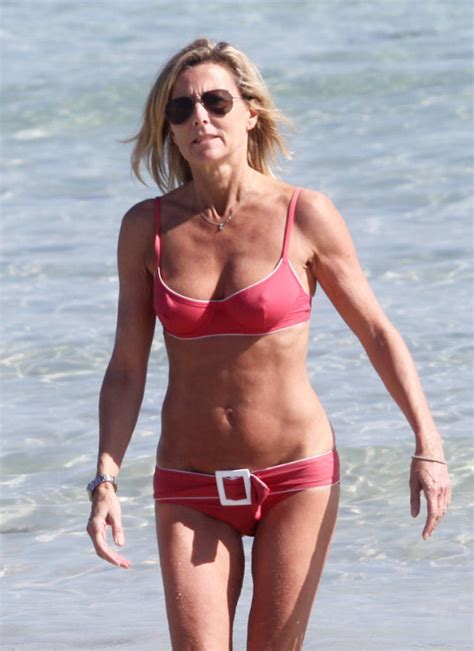 Claire Chazal Enjoys A Novel Topless On The Beach | 81709 | Photos | The Blemish