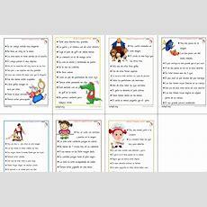7 Nuevas Fichas De Comprensión Lectora Verdadmentira  Aula Pt