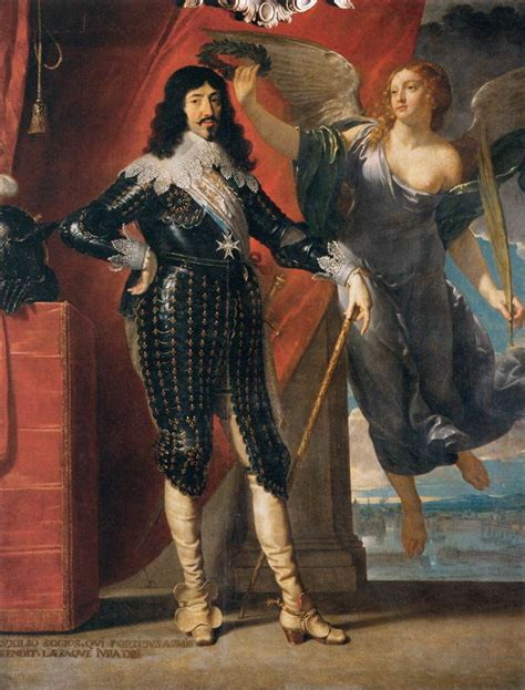 siege baroque file philippe de chaigne louis xiii crowned by