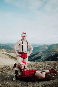 Funny Christmas Cards with Calgary Photographer