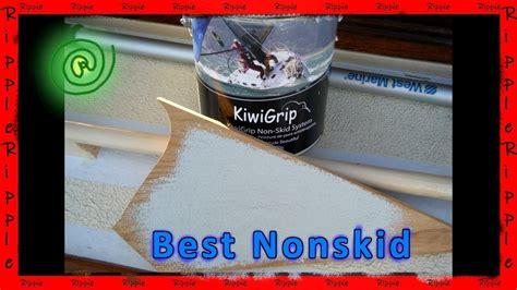 apply kiwigripkiwi grip nonskid   boat youtube