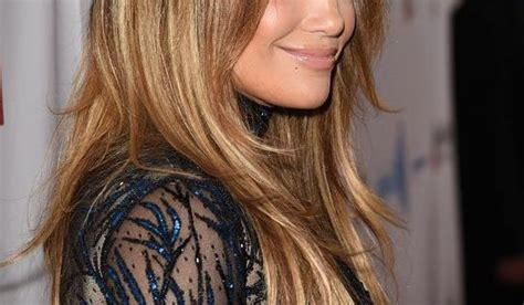 J.lo Just Tweaked Her Famous Blond Highlights And Here's