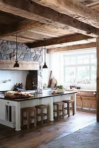 quelles pierres de parement choisir pour votre piece With cuisine avec mur en pierre