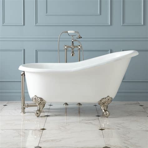Lena Cast Iron Clawfoot Tub With Monarch Imperial Feet