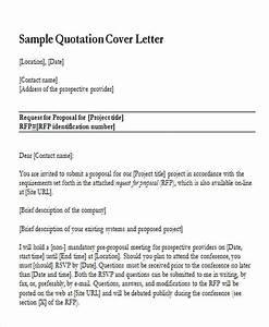Revised Quotation Cover Letter Sample Cover Letter