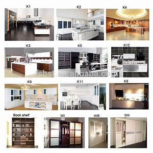 high quality luxury pre assembled fiberglass wood kitchen With best brand of paint for kitchen cabinets with laptop sticker design
