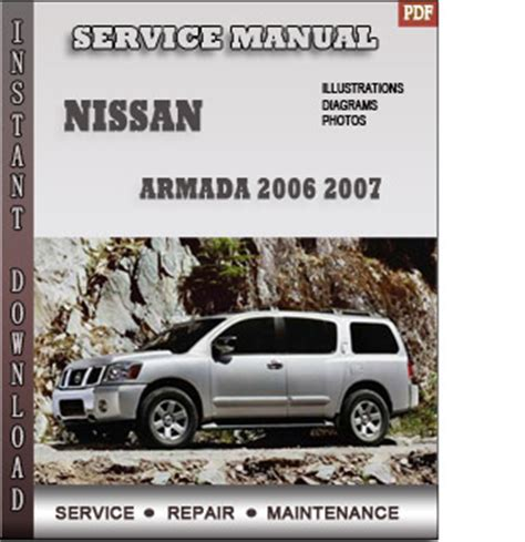 motor repair manual 2007 nissan armada user handbook 2006 2007 nissan armada service repair manual