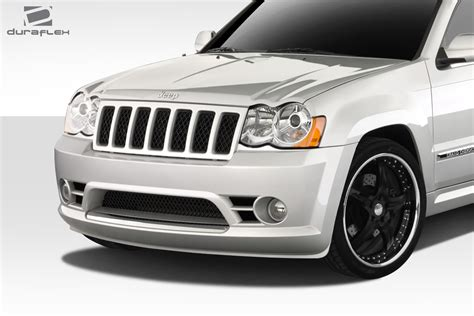 srt jeep 08 08 10 jeep grand cherokee srt look duraflex front body kit