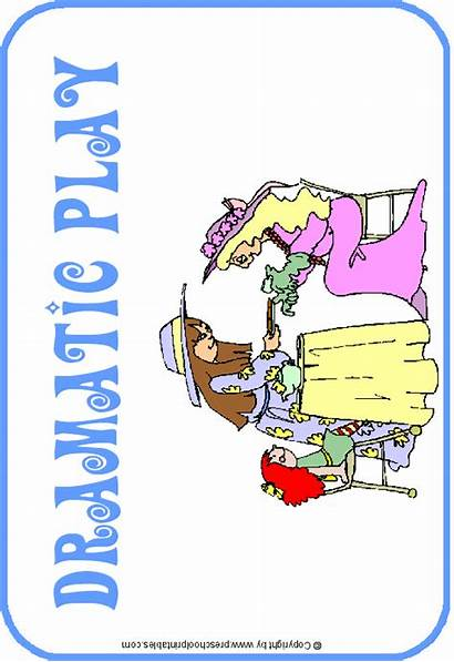 Clipart Preschool Center Signs Dramatic Play Labels