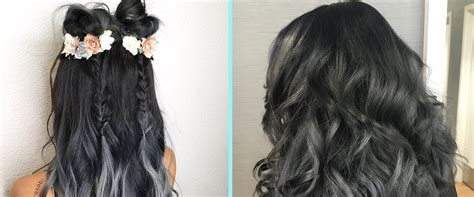 Charcoal Hair Dye by Charcoal Hair Is The Clap Back To The Unicorn