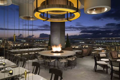 Marriott Gasl Rooftop Bar by The Nolen A Destination Rooftop Bar And Lounge In San Diego