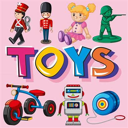 Toys Different Types Vector Clipart Vectors Resources