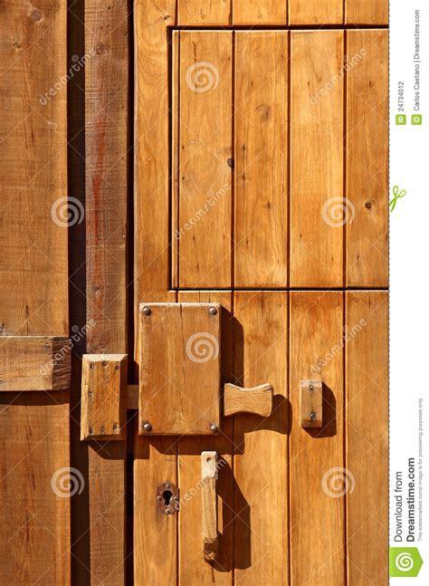 wooden door detail stock photography image