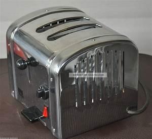 Toaster Retro Design : retro chrom toaster shg ta590 bully toaster fifties optik ~ Frokenaadalensverden.com Haus und Dekorationen