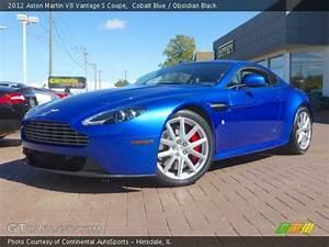 Cobalt Blue - 2012 Aston Martin V8 Vantage S Coupe ...