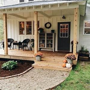 51 Best Farmhouse Front Porch Decor Ideas