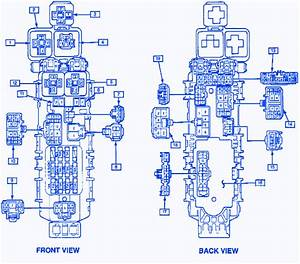 Gm Geo Prism 1996 Junction Fuse Box  Block Circuit Breaker Diagram  U00bb Carfusebox