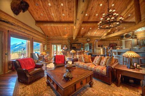 Kitchen Island Design Ideas - cabin interior design blends form and function