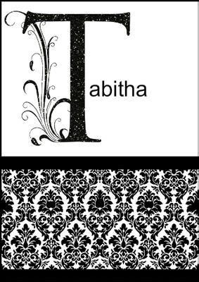 card creator damask monogram letter  card cup