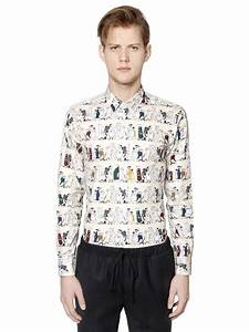 Paul Joe : lyst paul joe cartoon print shirt in natural for men ~ Orissabook.com Haus und Dekorationen