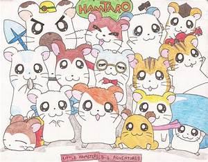Image Gallery hamtaro characters