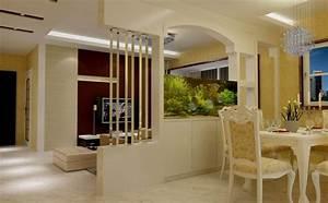 Cách trang trí giữa phòng khách và bếp đẹp TUYỆT VỜI