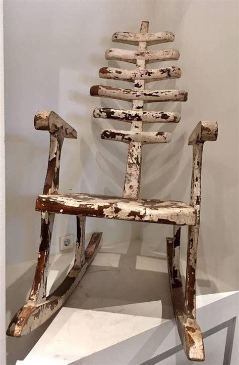 foto de Skeleton Rocking Chair at 1stdibs