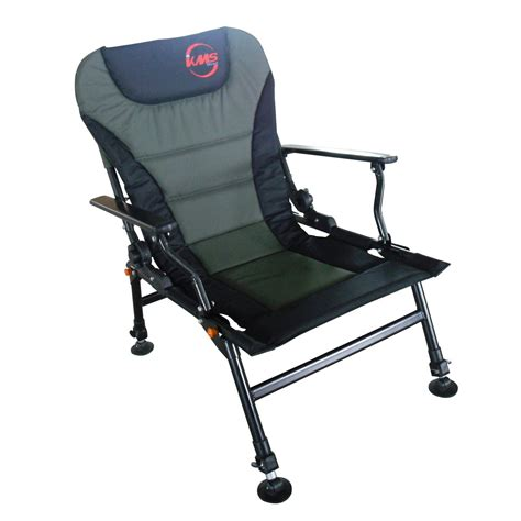 Camp Chair With Footrest by L Arm Pesca Restos Silla Plegable Camping Reclinable 4