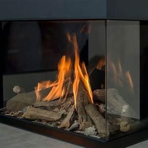 Poele Electrique Effet Feu De Bois : foyer chemin e gaz faber matrix effet feu de bois matrix ~ Dailycaller-alerts.com Idées de Décoration