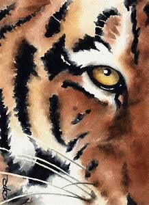 TIGER Wildlife Art Print Signed by Artist DJ Rogers. $12 ...