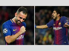 Barcelona Alcacer emerges as a rival to Luis Suarez