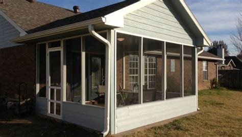 diy screened in porch how to diy a screened in patio for only 500 photos