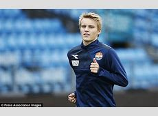 Martin Odegaard signs for Real Madrid in £23m deal and