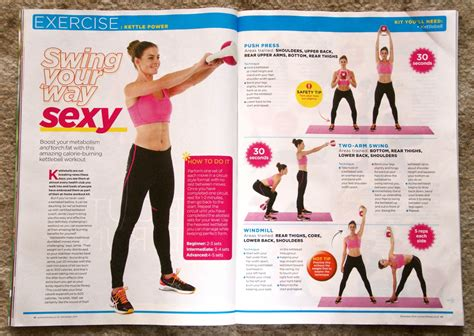 kettlebells kettlebell insanity workout fitness november issue