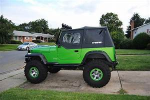 Sell Used Custom Jeep Wrangler Yj Lifted 38 U0026 39  Tires In Frederick  Maryland  United States