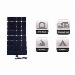 Régulateur Pour Panneau Solaire : panneau solaire flexible x flex 100w avec r gulateur mppt ~ Medecine-chirurgie-esthetiques.com Avis de Voitures