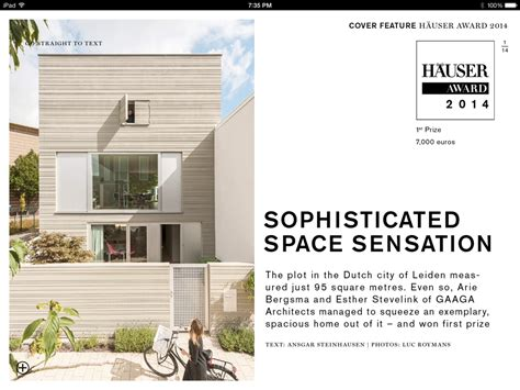 Review HÄuser  The Ipad Magazine For Architecture And Design