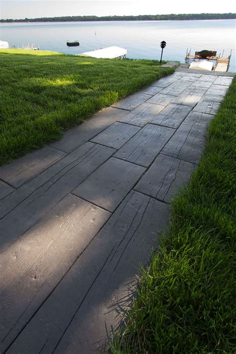 concrete walkway masonry picture post contractor talk