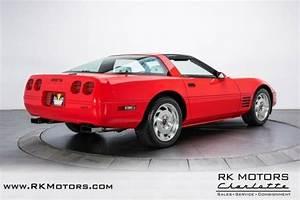 1993 Chevrolet Corvette Red Coupe 5 7 Liter V8 6 Speed