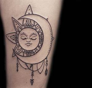 Sun and Moon Tattoo Meanings - Ink Vivo