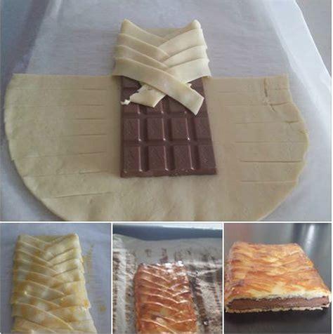 recette avec pate feuilletee et chocolat on