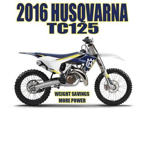 2016 Husqvarna Tc 125 Changes