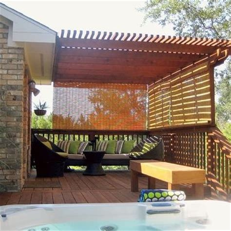 8 best patio bamboo roll up blinds images on