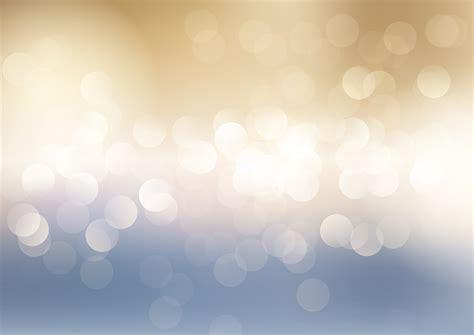 blue  gold bokeh lights background