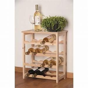 Meuble Porte Bouteille : casier 16 bouteilles de vin en bois achat vente meuble range bouteille casier 16 bouteilles ~ Teatrodelosmanantiales.com Idées de Décoration