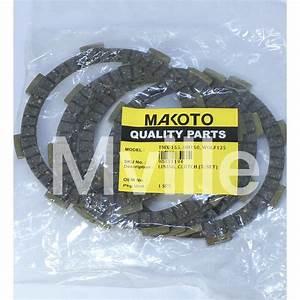 Honda Tmx 155 Xrm Wave 110 Clutch Lining Makoto 5pcs