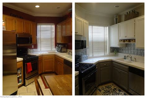 remodelaholic  toned kitchen makeover