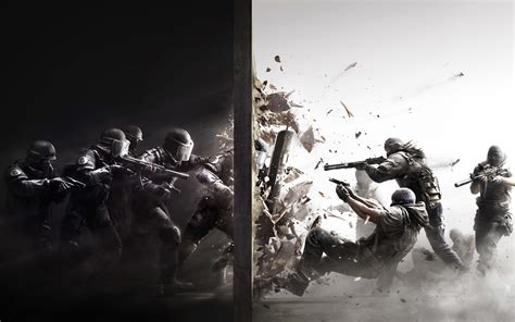siege pc gamer rainbow six siege 2015 wallpapers hd wallpapers